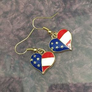 Jewelry - Patriotic earrings
